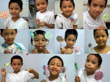 Lollipop buatanku