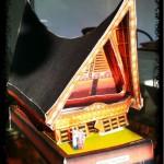 Paper Craft Rumah Batak Toba