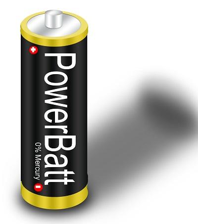 Membuat baterai dengan Photoshop
