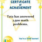 Tata dan IXL Math