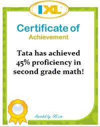 IXL Math Tata – Juni 2011
