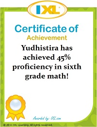 Yudhis's Math: 45% kelas 6