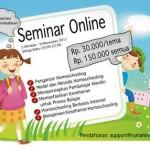 Seminar Online sesi ke-2: Model & Metode Homeschooling