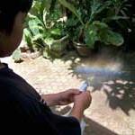 Percobaan Sains: Membuat pelangi