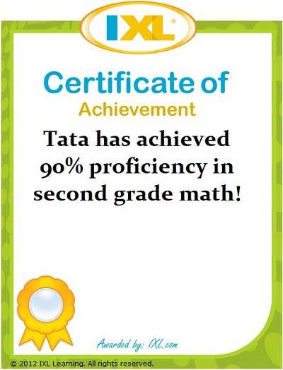 Belajar Matematika Tata K-2: 90%