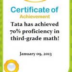 Tata: 70% Matematika Kelas 3