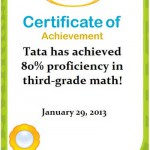 Tata Menyelesaikan 80% Math K-3