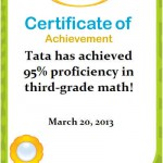 IXL Math Tata: 95% Kelas 3