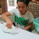 Belajar Menyeterika untuk Keterampilan Hidup