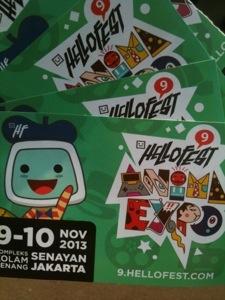 tiket HelloFest9