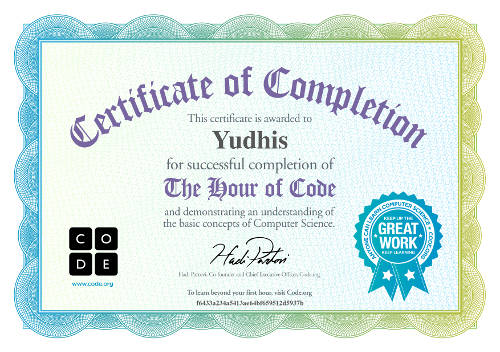 Yudhis-one-hour-code