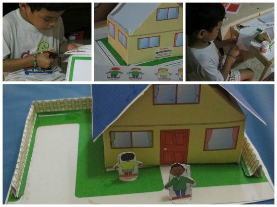 Ide kegiatan kilat untuk Duta: papercraft
