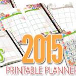 Hadiah 2015: FREE Printable Planner