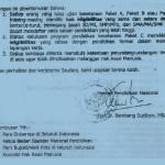 Surat Edaran Mendiknas tentang Status Hukum Ijazah Paket/Kesetaraan