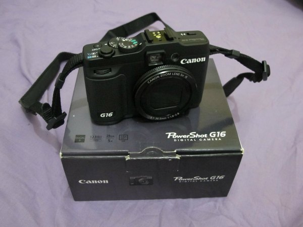 Hadiah Canon Powershot G-16 dari Kopilatinum