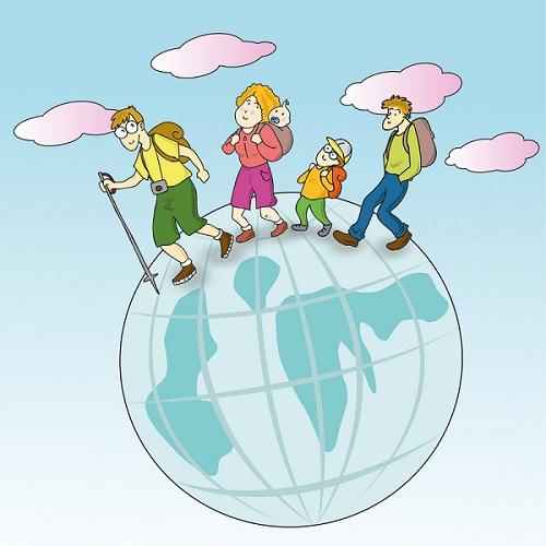 Mengenalkan anak dengan aneka dunia