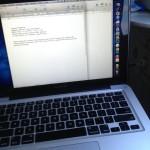 Blogging di Kereta Api