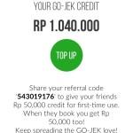 Cerita Gojek: Kredit & Referralku dari Gojek sudah lebih dari Rp 1 juta