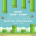 #OaseCodeCamp – Belajar Membuat Game untuk Anak