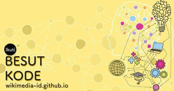 wikimedia-besut-kode