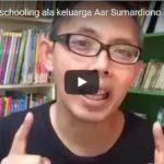 Facebook Live tentang Homeschooling ala keluarga Aar Sumardiono