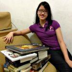 Dona, usia 12 tahun lulus 12 mata kuliah online