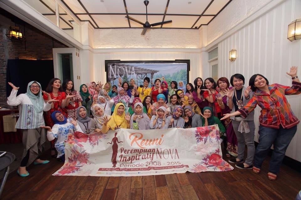 Reuni Perempuan Inspiratif Nova 1998 – 2015
