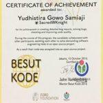 Besut Kode: Portofolio Pengalaman Yudhis