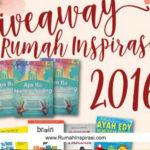 Giveaway Rumah Inspirasi: 7 Buku Parenting Gratis. Mau?