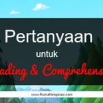 Pertanyaan untuk Kegiatan Reading-Comprehension