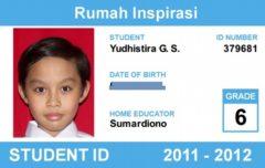 Kartu Pelajar untuk Anak Homeschooling