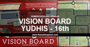Vision Board Yudhis – 16 Tahun