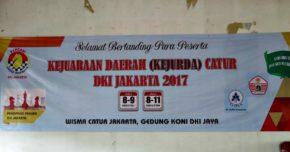 Hari Pertama Kejurda Catur DKI Jakarta