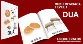 Buku Belajar Baca – Level 1 – DUA