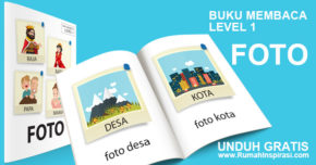 Buku Belajar Baca – Level 1 – FOTO