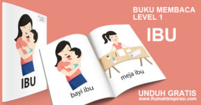 Buku Belajar Baca – Level 1 – IBU
