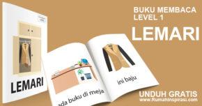 Buku Belajar Baca – Level 1 – LEMARI