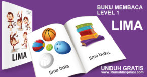 Buku Belajar Baca – Level 1 – LIMA