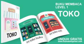 Buku Belajar Baca – Level 1 – TOKO