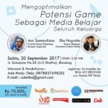 Seminar Game-Based Learning di Bandung