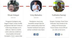 Menjadi Reporter & Anggota Tim Boardgame Id
