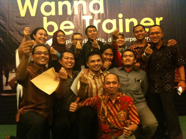 Bisma di Wanna be Trainer