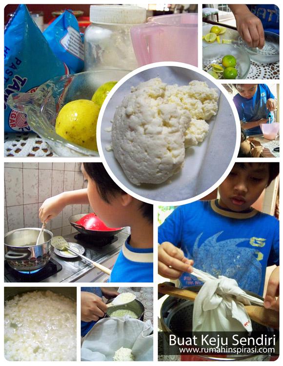 Membuat Keju Sendiri