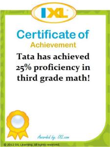 IXL Math Tata