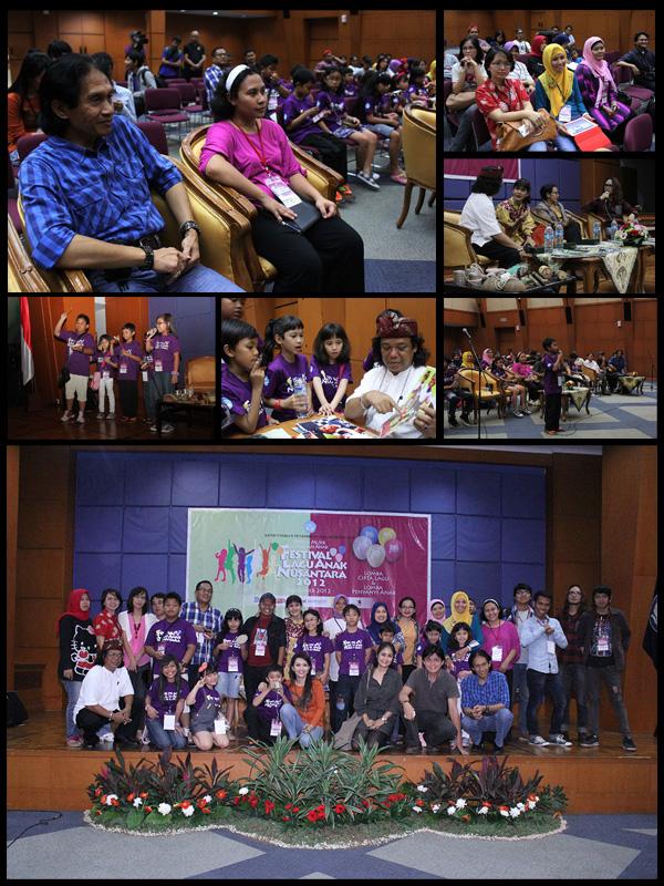 Diskusi Musik dalan Festival Lagu Anak Nusantara
