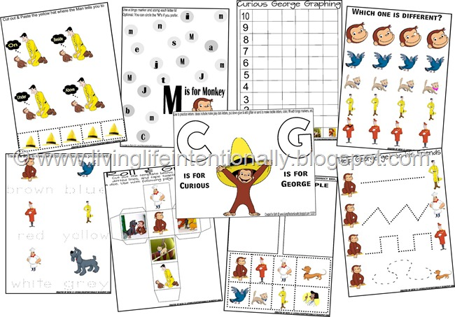 Curious George Pack A Image