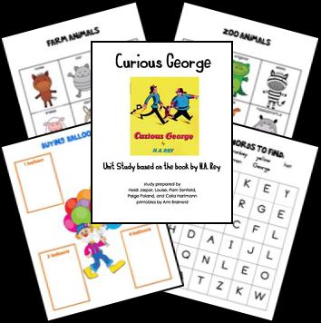 curious_george_lapbook