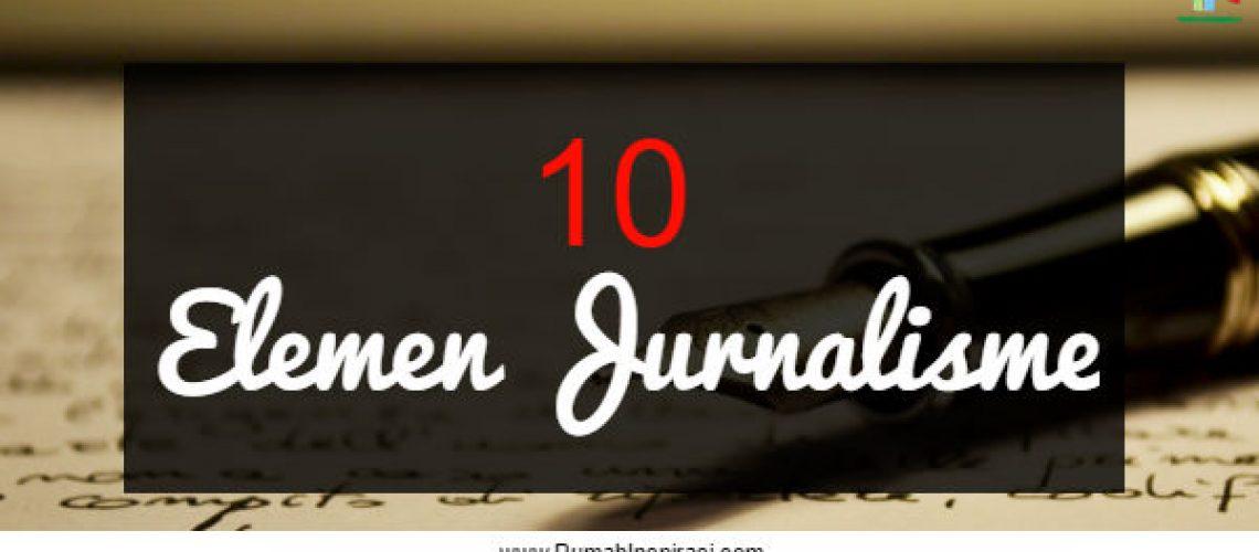 10 Elemen Jurnalisme