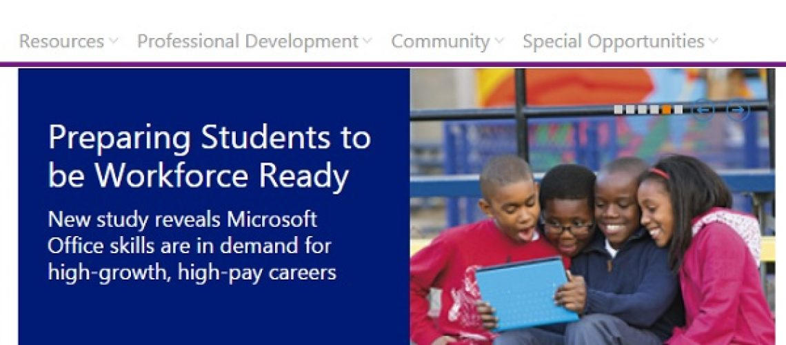 MicrosoftEducatorNetwork
