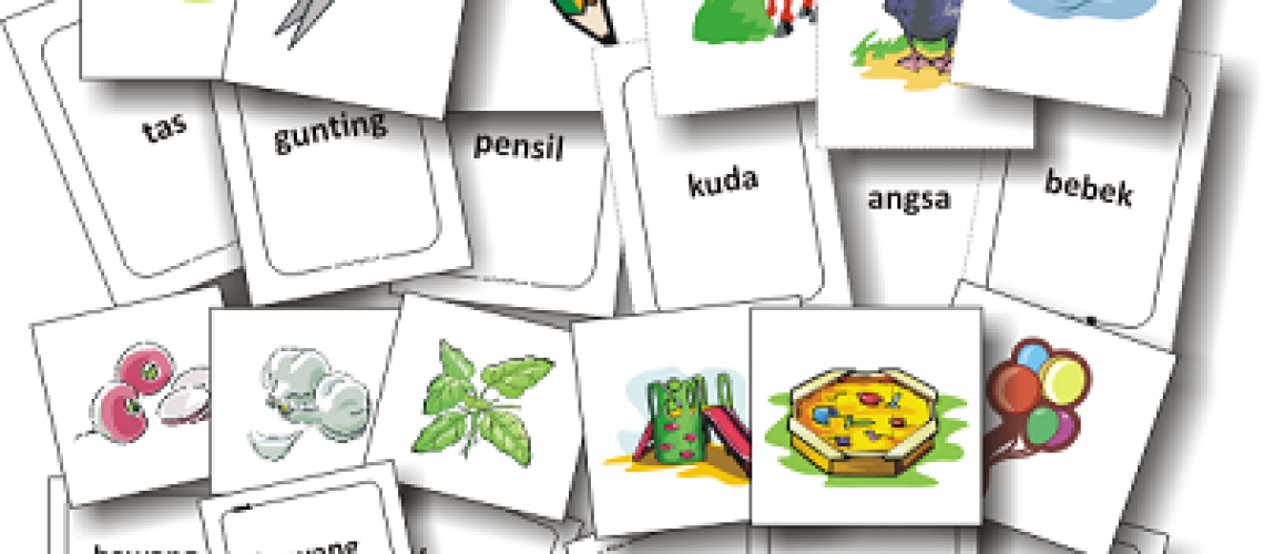 Flashcard Nama Benda